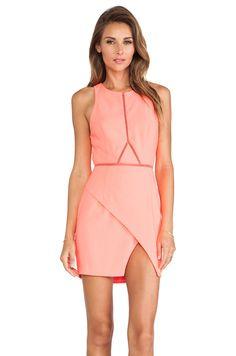 Three of Something Optics Dress in Acid Flamingo | REVOLVE