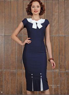 PRE ORDER New Stop Staring FIRSTCLASS NAVY Dress - FRSTCL-03 NAVY