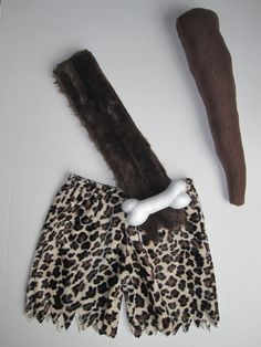 Baby toddler boys soft fabric Caveman or Bam Bam club for Flintstones Flinstones Halloween costume. $12.00, via Etsy.