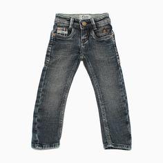 Calça Jeans Infantil Malha Clara - Toffe