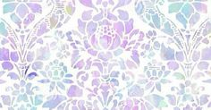 Lavender lilac mint watercolour damask  iphone wallpaper phone background lock screen | phone wallpaper | Pinterest | Watercolour, Damasks and Lilacs