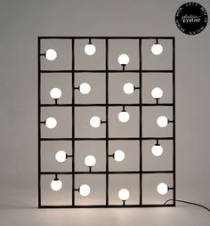 Square Floor/ Wall Lamp by Areti. / BEST OF MILAN DESIGN WEEK 2013…