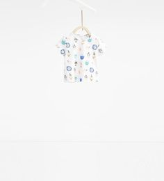 ZARA - KIDS - Animal face T-shirt
