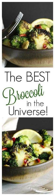 I know calling this the Best Broccoli in the Universe is quite a steep claim to make, I mean broccoli can be delicious in all kinds of ways. But, it IS truly the best way to make Broccoli taste great!