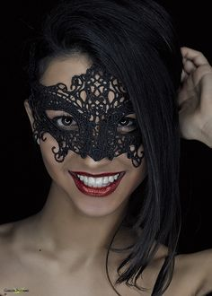 Ayelen by Carlos Santero on Beyond The Mask, Masquerade Party, Masquerade Masks, Female Mask, Mask Girl, Hidden Beauty, Kissable Lips, Carnival Masks, Beautiful Mask