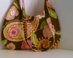 Paisley Fiesta 1 Brown with Muted Shades of by tonilovesbuttons, $42.00