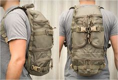 MULTI-PURPOSE PACK | FirstSpear is a brand created by former U.S. servicemen, they develop enhanced light-weight load carriage solutions for the US Special Forces. Their Multi-Purpose Pack is the perfect 1 day pack, it features an hydration compartment, padded shoulder straps, 5 external pockets and compression straps.