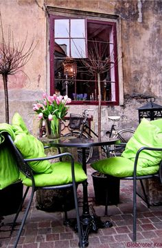 Cafe Camelot, Krakow, Poland