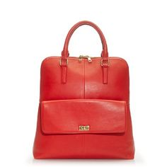 Yes please in RED-- Edie Tote: Also available in black. $348 #Tote #J_Crew