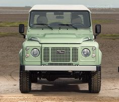 17 Photos That Will Make You Want A Land Rover Defender Heritage Edition - Airows Beach Cars, Land Rovers, Land Rover Defender, Landing, Make It Yourself, Photos, Pictures, Landrover Defender