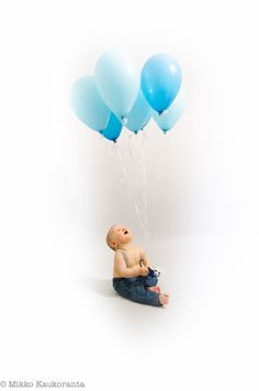 Balloons Watch Photo, Balloons, Baby, Globes, Balloon, Baby Humor, Infant, Babies, Babys