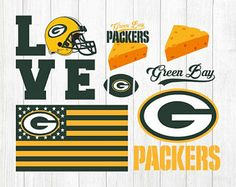 Check out our green bay packers selection for the very best in unique or custom, handmade pieces from our shops. Green Bay Packers Colors, Green Bay Packers Logo, Packers Football, Greenbay Packers, Football Season, Football Crafts, Go Pack Go, Holidays With Kids, Chicago Cubs Logo