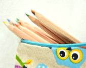 pencil case, for children and adults, zipper pouch ideal as birthday present, mother's day gift or just for school time,  job and personal