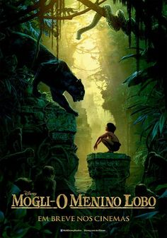 Trailer e cartaz do filme 'Mogli – O Menino Lobo'