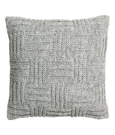 Pattern Chunky Knit Checkered Basket Cushion Cover Decorative Throw Pillow Cover Wool Bland With 100% Cotton Canvas Backing 20-by-20-inch (Gray), http://www.amazon.com/dp/B01BMQ63WE/ref=cm_sw_r_pi_awdm_RhB2wb1BG3WAA