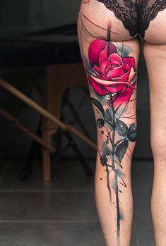 Rose tattoo #evamigtattoos #tattoo #TattooIdeasUnique