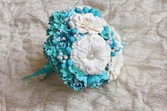 Icy Blues by Amanda  Johnson on Etsy a Beautiful collection of blue vintage and handmade gifts from top Etsy shops included my handmade ceramic blue cat pin.