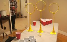 official quidditch pong rules