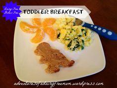 Dairy Free Gluten Free Toddler Dino Breakfast