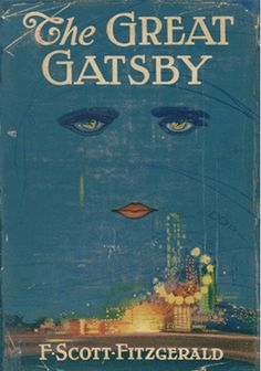 """Happy Birthday to F. Scott Fitzgerald, born on this day in The cover art for his famous novel """"The Great Gatsby"""" was complete before the book itself. Fitzgerald loved it so much he decided to write it into the novel. I Love Books, Great Books, Books To Read, My Books, Amazing Books, It's Amazing, Scott Fitzgerald, Zelda Fitzgerald, The Great Gatsby"""