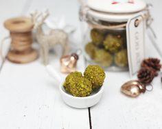 Pistazien Pralinen Trüffel Weiße Schokolade Mandeln Weihnachten Geschenk aus der Küche