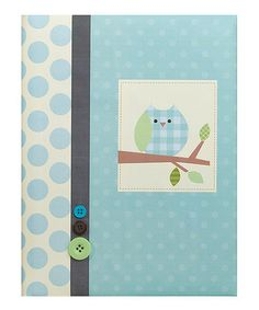 Take a look at this Blue Branch Owl Record Book by pepper pot on #zulily today!  http://www.zulily.com/invite/Zulily20Store