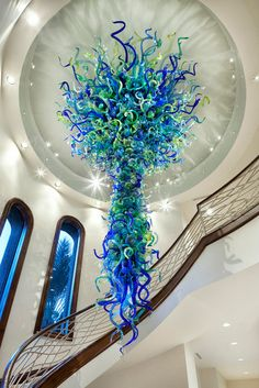 Dale Chihuly - just incredible.