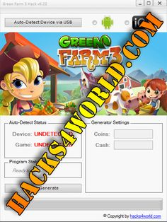 Green Farm 3 Hack working with iOS and Android download only from: http://hacks4world.com/green-farm-3-hack-android-ios/  Green Farm 3 Hack Features: Coins generator Cash generator  Green Farm 3 Hack working with iOS and Android download only from: http://hacks4world.com/green-farm-3-hack-android-ios/