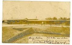 Look at the beautiful landscaping - Boonton NJ - RAILROAD STATION - RPPC Postcard -1905