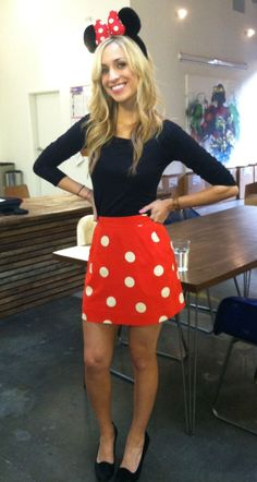 Minnie mouse cute costume - office appropriate - Halloween