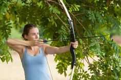 Try some archery and see if you can hit the the middle ; Special Interest Groups, Tourism Marketing, Private Games, Game Reserve, Tent Camping, Archery, South Africa, Safari, Middle