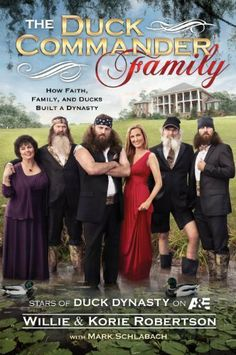 The Duck Commander Family by Willie Robertson-$8.89- This book gives readers an up-close and personal, behind-the-scenes look at the family in the exploding A show—Duck Dynasty. This Louisiana bayou family operates Duck Commander, a booming family business that has made them millions. You'll hear all about the Robertson clan from Willie and what it was like growing up in the Robertson household. You'll sample some of Willie's favorite family recipes from Phil, Kay...
