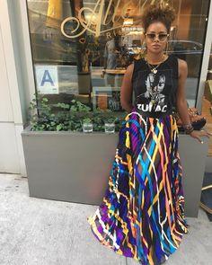 Eva Marcille in Khosla Jani Skirt Eva Marcille, Looks Style, Looks Cool, My Style, Style Men, Love Fashion, Autumn Fashion, Fashion Looks, Womens Fashion