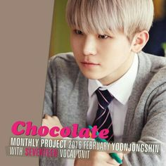 seventeen Chocolate Woozi