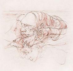 Hans Bellmer - The Divine Marquis Surrealist Photographers, Automatic Drawing, Melancholy, Drawings, Spectrum, Artist, Dibujo, The Divine, Sketch