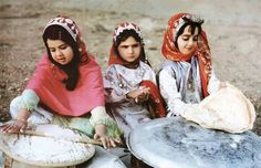 Bakhtiari nomafs, Iran