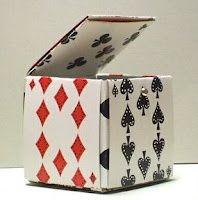 Stamp Owl's Studio: Playing Card Box Tutorial