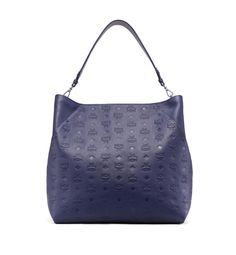 Shop the Klara Hobo in Monogram Leather at MCM. This hobo epitomizes practical luxury and is crafted from our signature Monogram leather. Mcm Bags, 50 Off Sale, Trends, Spring Sale, Clutch, Shopper, Shoulder Strap, Shoulder Bags, Hobo Bag