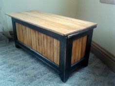 Small Toy Box Or Storage Bench