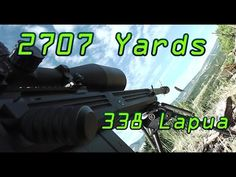 2707 Yards 1.54mi Shot! Savage 110BA 338 Lapua - It took the shooter 21 shots to get their first hit on the target