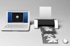 Electronic Origami Machines - Mac Funamizu's Dream Printer Creates Fully Folded 3D Models
