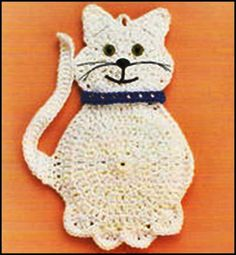 16 New Ideas Crochet Bookmark Cat Cross Stitch Gato Crochet, Crochet Cross, Irish Crochet, Crochet Baby, Crochet Dishcloths, Crochet Doilies, Crochet Flowers, Crochet Applique Patterns Free, Granny Square Crochet Pattern