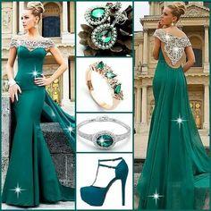 Classy in green