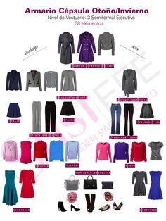 vestuario de otoño: armario cápsula
