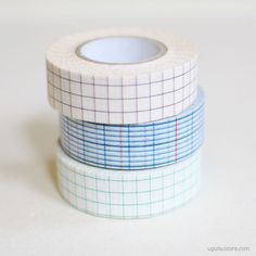 These Japanese washi masking tapes are slightly thicker/wider than standard washi masking tapes and are ideal for sealing packages or...
