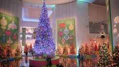 """A view of the 75th annual """"Christmas Around the World and Holidays of Light"""" at the Museum of Science & Industry"""