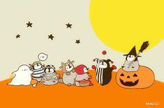 Penguin Cartoon, Penguin Art, Penguin Love, Cute Penguins, Chibi Food, Kawaii Halloween, Dream Art, Cute Chibi, Funny Stickers