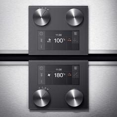 Gaggenau Product Family Series 200/400 - Geräteübergreifendes, ganzheitliches User-Interface-Design der Gaggenau Serie 200/400.