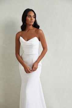 Country Wedding Dresses, Dream Wedding Dresses, Designer Wedding Dresses, Simple Wedding Gowns, Formal Wedding, Blue Wedding, Wedding Goals, Mermaid Dresses, Wedding Wishes