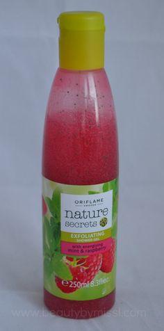 Oriflame Nature Secrets Exfoliating Shower Gel #review